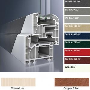 Раздвижная металлопластиковая система SCHÜCO HS70