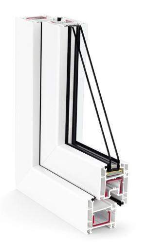 Металлопластиковое окно Rehau Euro 60