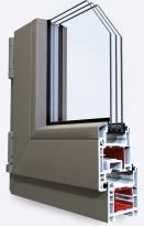 Металлопластиковое окно SCHUCO AS 60