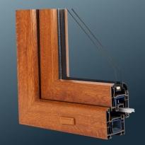 Металлопластиковое окно Schüco Classic CT 70 (3 камеры)